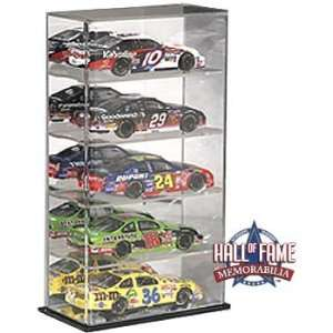 1/24th Scale 5 Car Display Case with Mirrored Back and