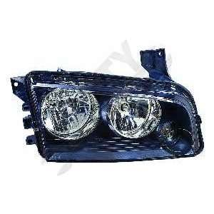 Depo 334 1116R AS2 Dodge Charger Passenger Side Replacement Headlight
