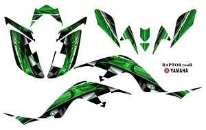 Yamaha Raptor 700 ATV Laminated Graphic Decal kit 2001G