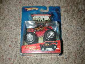 SCREAMIN DEMON 05 MINT METAL BASE MONSTER TRUCKS MIP
