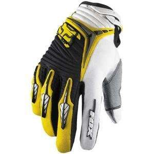 Fox Racing Youth Blitz Gloves   Youth Small/Yellow