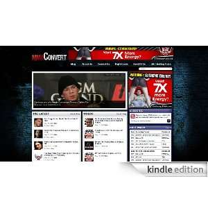 MMAConvert UFC & MMA News, Fight Cards, & Videos [Kindle Edition]