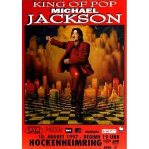 Michael Jackson   HIStory World 1997   CONCERT   POSTER