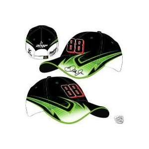 Dale Earnhardt Jr #88 AMP Energy Flames Flash Lightning Bolts Green