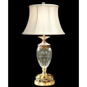 Dale Tiffany GT90028 Crystal Table Lamp, Light Antique