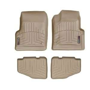 2005 2006 Jeep Wrangler Unlimited Tan WeatherTech Floor Liner (Full