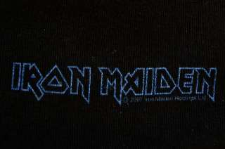 official iron maiden rare womens shirt mexico htf oop