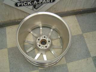 09 10 Cadillac CTS STS OEM 19 10 Spoke Polished Wheel