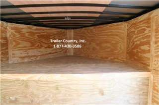 NEW 2012 8.5 X 32 ENCLOSED GOOSENECK CARGO TRAILER