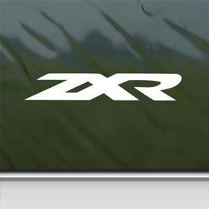 Honda White Sticker Zxr 250 750 Car Vinyl Window Laptop White Decal