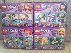 Friends Olivia Mia Stephanie Emma 3933 3934 3935 3936, Sealed