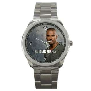 Shemar Moore Criminal Minds Unisex Men Women Stainless Steel Photo