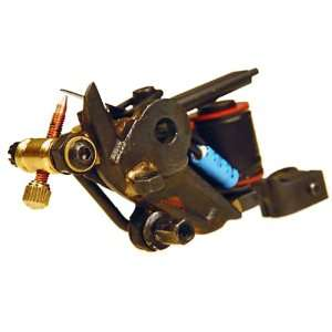 Steel Frame 10 Wrap Coil Tattoo Machine Shader