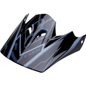 Fox Racing Rampage Helmet Visor Black/Grey/White No Size