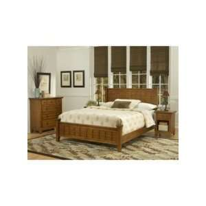 Home Styles Arts & Crafts 3 Piece Bedroom Set in Cottage