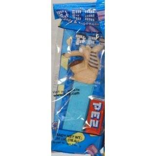 New Pez Ice Age Scrat with Nut Candy Dispenser and 1 Candy Refill