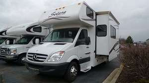 24S CLASS C B+ MERCEDES BENZ DIESEL MINI HOME RV NATIONS