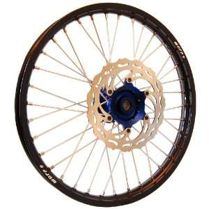 Warp 9 MX Wheels Blue/Black Wheel with Painted Finished