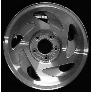97 00 FORD EXPEDITION ALLOY WHEEL (PASSENGER SIDE)  (DRIVER RIM 17