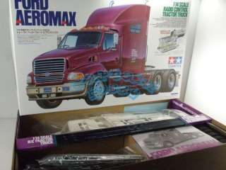 New Tamiya 1/14 R/C FORD AEROMAX Tractor Truck Model Kit 114