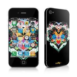 com Light Heart Design Protective Skin Decal Sticker for Apple iPhone