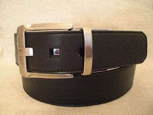 Ecko Unltd Mens Black/Brown Reversible Belt Sz 36