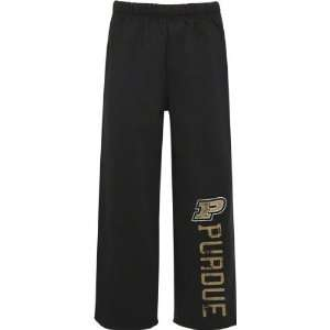 Purdue Boilermakers Youth Black Sweatpants