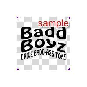 RANDOM BADD BOYZ 10 WHITE VINYL DECAL STICKER Everything