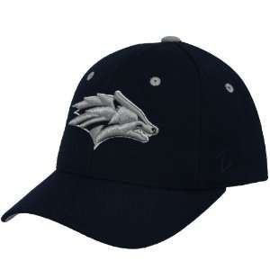 Zephyr Nevada Wolf Pack Navy Blue DHS Fitted Hat (7 1/4