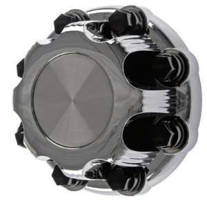 Chevy Silverado 8 Lug Aluminum Wheel Center Cap/Lug Nut Cover Chrome