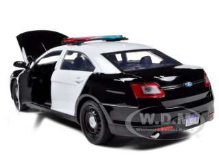 Car Interceptor Concept Unmarked Black/White die cast car by Motormax