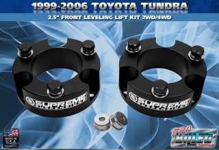 99 06 Toyota Tundra 2.5 Suspension Leveling Lift Kit PRO