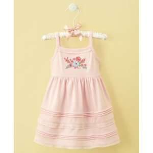 First Impressions Baby Girl Pintucked Dress Cradle Pink 24
