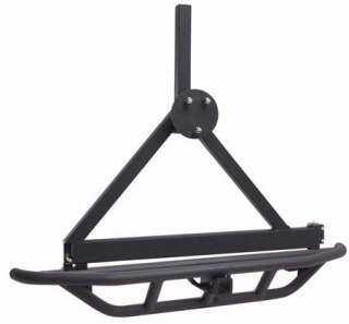 87 06 Jeep Wrangler SRC Rear Bumper Hitch, Tire Carrier