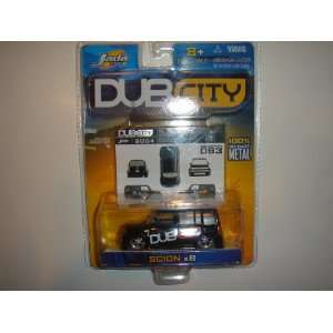 2004 Jada Dub City 164 Scale Scion xB Black #093 Toys & Games
