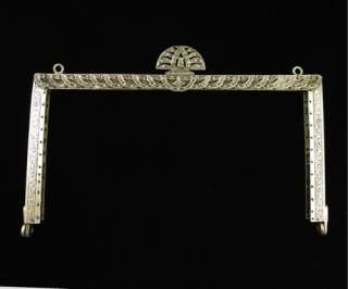 Antique Sterling Art Deco Silver Marcasite Purse Frame