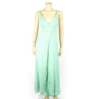 Erge Design Sleeveless Maxi Dress Chartreuse or Green