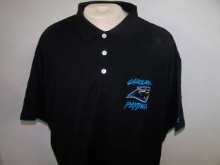 CAROLINA PANTHERS Big & Tall Golf Polo Shirt 5XL 5XBIG