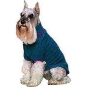 CLASSIC CABLE Dog Sweater Clothes Apparel XS~ TEAL (LAST ONE)
