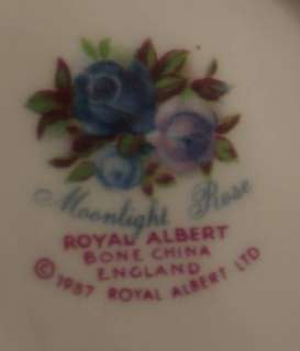 Royal Albert Moonlight Rose Cake Plate Large