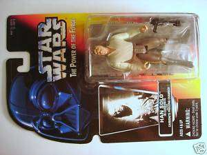 star wars POTF2 carded HAN SOLO CARBONITE C 9