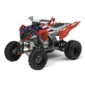 AMR Racing Yamaha Raptor 700 ATV Quad Graphic Kit   Stars and Stripes