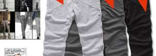 3Color CHoice Fashion Style New Mens Casual Rope Sport Harem Trousers