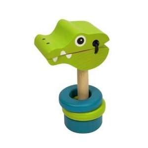 Crocker Clacker Melissa and doug 3002 Baby Toy Rattle