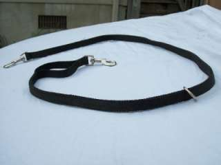 Hunting Dog Leash 2 Snaps O Ring Heavy Duty USA Made