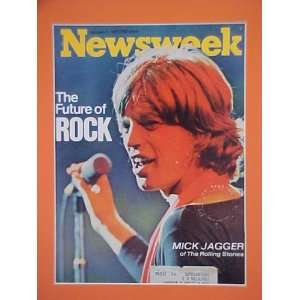Mick Jagger The Rolling Stones January 4 1971 Newsweek Magazine