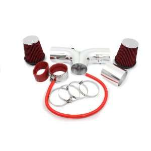 Hemi 5.7L V8 Dual Short Ram Intake Red (Included Air Filter) #SR DG 9R