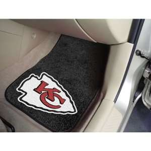 Kansas City Chiefs NFL Car Floor Mats (2 Front)