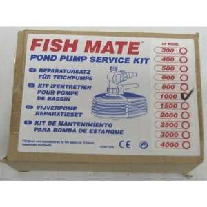 Fish Mate Pump Service Kit for 1000 Pump Patio, Lawn