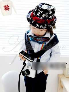 Cute Toddler Kids Baby Boys Girls Cap Fashion Photography Fedora Hat